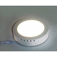 Накладной точечный светодиодный светильник 2 в 1 Wall Light Plastic 6W