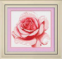 Алмазная вышивка «Роза» (29,75 см х 27 см) LasKo TK011 Набор для рисования камнями (на холсте)