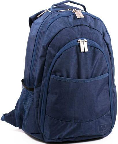 Удобный городской рюкзак из нейлона 35 л. Bagland 18070-6 синий