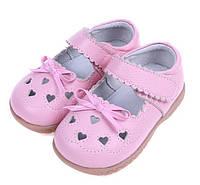 Туфли детские для девочки кожа