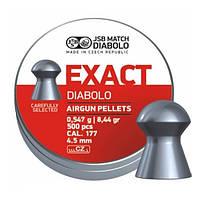 Пульки JSB DIABLO EXACT 4.51мм (0,547г) 500шт.