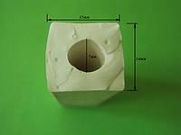 Силиконовый уплотнитель квадратный, фото 1