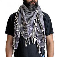 Шемаг-шарф с кисточками