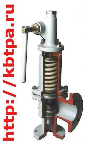 Клапан предохранительный СППКР 25-100-02