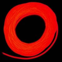 Холодный (гибкий) неон 3-го поколения  5,0 мм, червоний