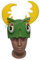 Карнавальная маска Кузнечик