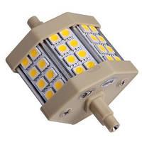 Светодиодная лампа Electrum A-LL-1728 линейная 5W J78 R7S 4000K LL-24 проз. ал./к. Код.56461