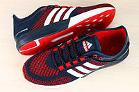 Мужские кроссовки adidas cosmic boost красно-синие