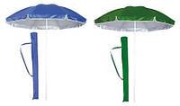 Зонт садовый, пляжный, торговый с наклоном 1,8 м.