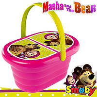 Посудка Корзина для пикника Маша и Медведь Smoby 310515