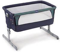 Кроватка для младенцев Chicco Next 2 Me Denim