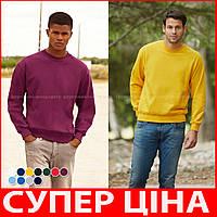 Мужская кофта свитер классическая мягкая и теплая з начосом