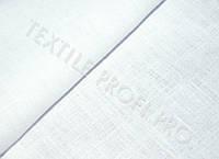 Ткань костюмная чистольняная (белого цвета)