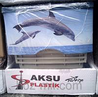 """-Комод пластиковый  """"Дельфин"""", фирма AKSU. Производитель Турция."""