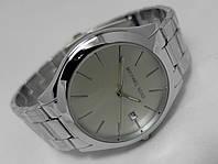 Мужские часы  Michael Kors - silver, корпус и циферблат серебристый
