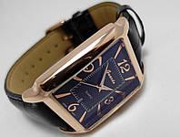 Мужские часы Guardo - Italy, цвет корпуса золотой, черный циферблат