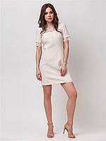 Нежное, красивое платье с кружевной отделкой р.44,46,48,50