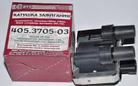 Катушка зажигания Волга, Газель дв.405,406,409 Евро разъем(пр-во СОАТЭ)