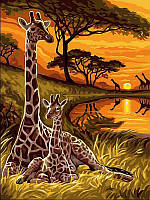 Картина по номерам Babylon Маленький жираф (VK128) 30 х 40 см
