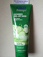 Натуральная маска-пленка для лица огурец Freeman