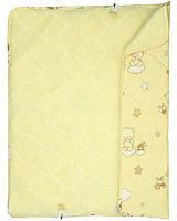 Конверт-одеяло для новорожденного, овчина, два цвета