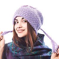Шапка подростковая вязанка Китай