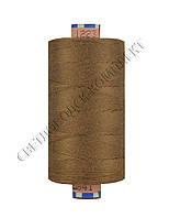 Нитка армированная джинсовая № 80, цв.св.коричневый, 1000 м, 1223
