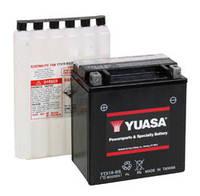 Аккумулятор для мотоцикла гелевый YUASA YTX16-BS 14Ah 150x87x161