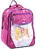 Удобный школьный рюкзак для девочки из нейлона 15 л. Bagland 58070-19