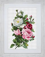 """Набор для вышивания нитками  """"Букет из роз"""""""