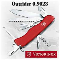 Нож Victorinox Outrider 0.9023 красный, 15 функций