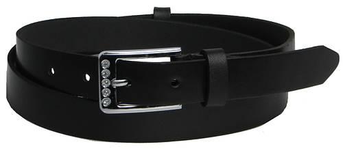 Женский кожаный ремень 2931 черный