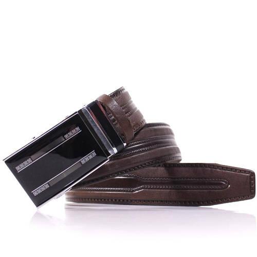 Классический мужской кожаный ремень LAZAR (ЛАЗАР),  CFL35Y1A32