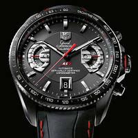 Часы Tag Heuer Carrera calibre 17 Black, механика, мужские
