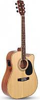 Электроакустическая гитара CORT AD880CE (NAT)