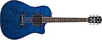 Электро-акустическая гитара FENDER TBUCKET 300SCE TRANS BLUE