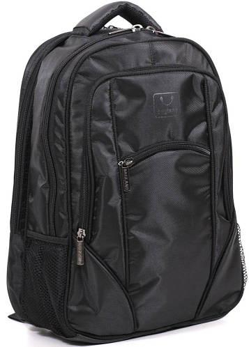 """Городской оригинальный рюкзак 20 л. с отделом для ноутбука 14-15"""" Bagland 53768 Black"""