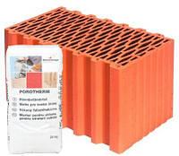 Керамический блок Porotherm Klima Profi 44