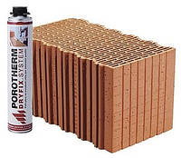 Керамический блок Porotherm Klima Dryfix 44