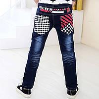 Детские джинсы черные