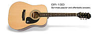 Акустическая гитара EPIPHONE DR-100 NATURAL CH HDWE