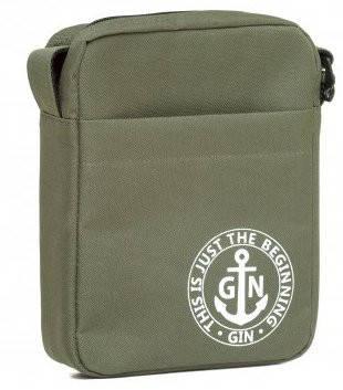 Функциональная наплечная сумка с отделением для планшета GIN 1736-khaki