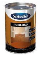 Sniezka (Снежка) Пол фталевая эмаль для деревянных полов (промежуточный орех), 1л.
