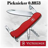 Нож Victorinox Picknicker 0.8853 красный, 12 функций