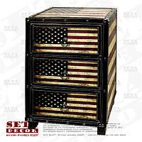 """Комод USA """"Американский стиль"""" с 3 ящиками"""