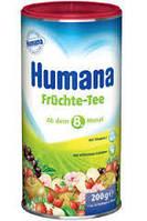 Растворимый чай HUMANA Фруктовый /Humana Fruchte-Tee 200 гр. с 8-и месяцев