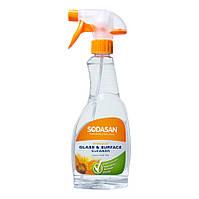 Органическое моющее средство SODASAN для стекла 0,5л.