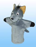 Куклы-перчатки для домашнего театра. Волк.