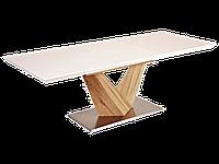 Белый деревянный раскладной стол Signal Alaras