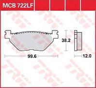 Yamaha TMAX / Super Tenere комплект тормозных колодок TRW / Lucas MCB722